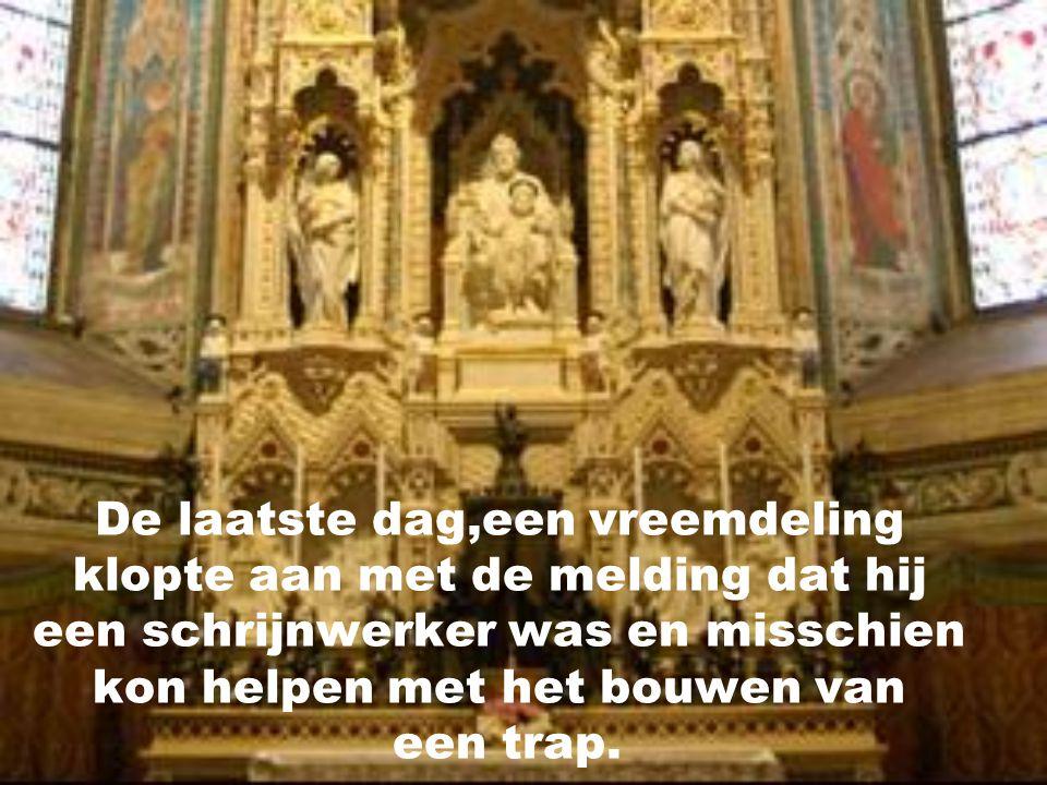 Zij baden tot St-Jozef gedurende 9 dagen, en...