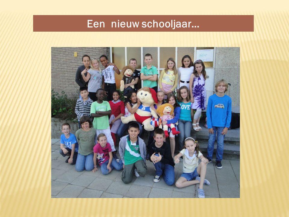 Een nieuw schooljaar…