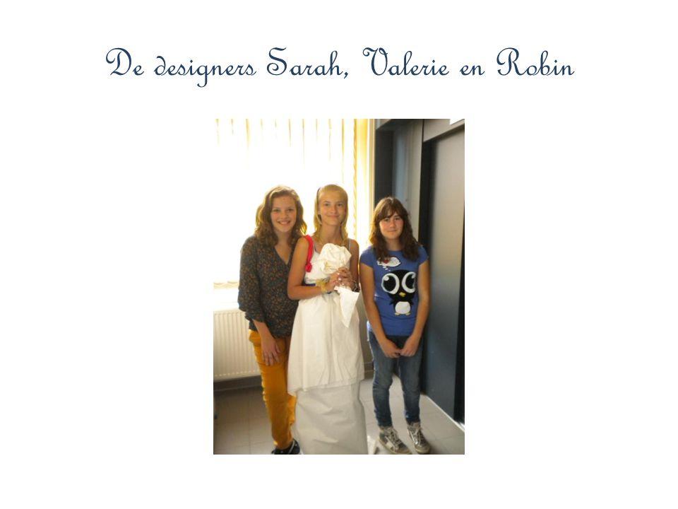 De designers Sarah, Valerie en Robin