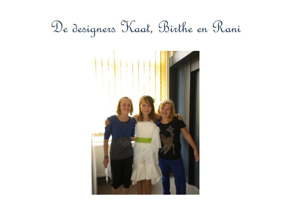 De designers Kaat, Birthe en Rani