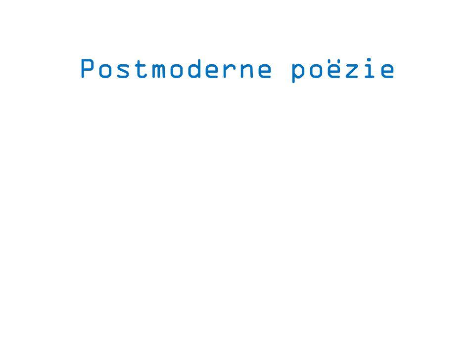 Postmoderne poëzie