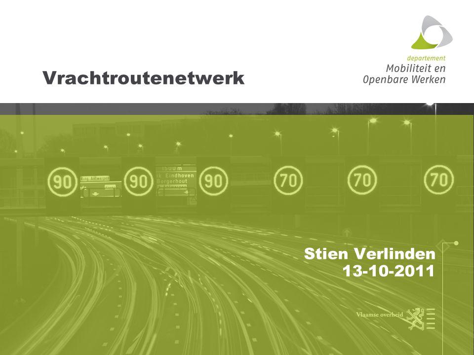 Fase 2: eind 2011-2012 Antwoord bieden op de knelpunten en problemen bij potentiële verbindingen tussen bedrijven-terreinen en het netwerk (o.m.