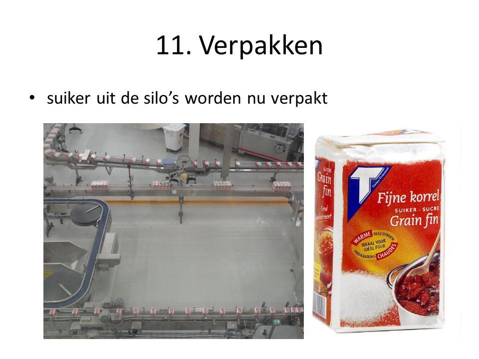 11. Verpakken suiker uit de silo's worden nu verpakt