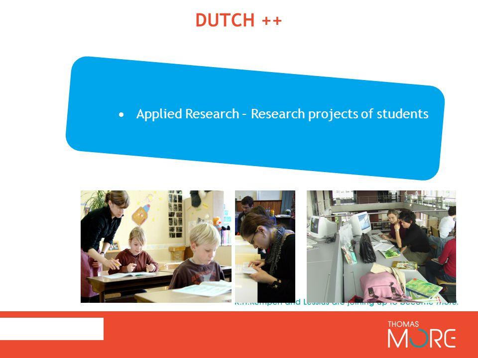Dutch++: Varieties in Dutch as pluricentric language ZEDDE ZOT? BEN JE GEK? 3