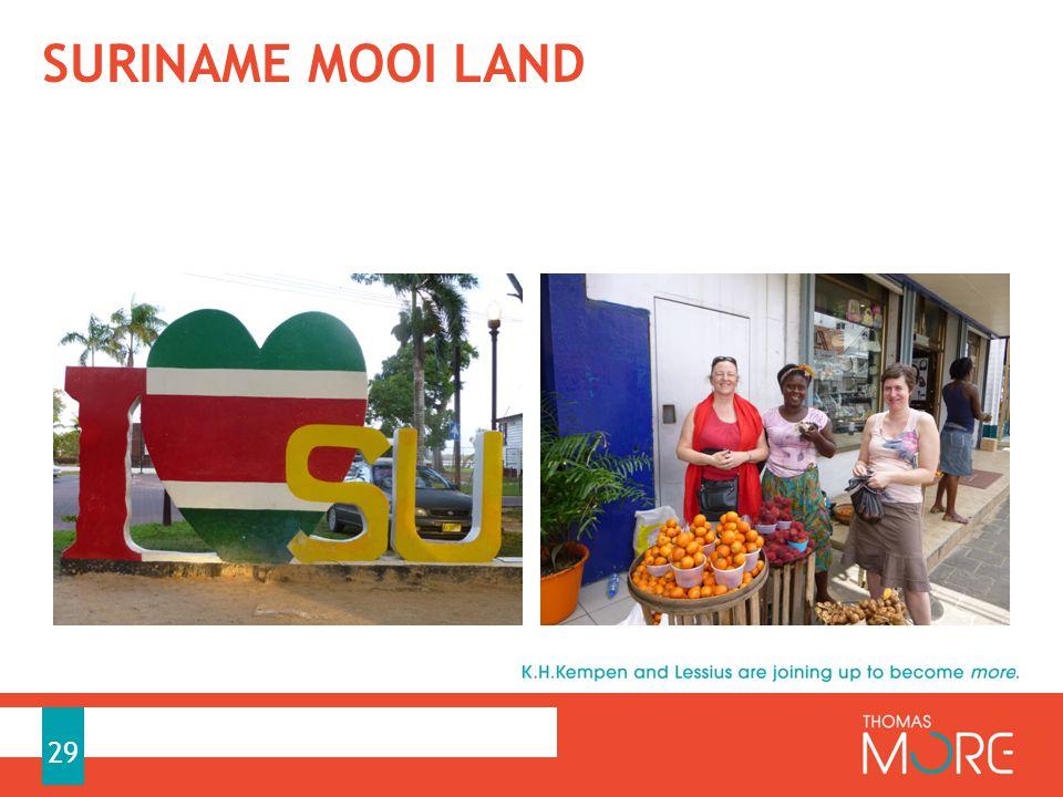 SURINAME MOOI LAND 29