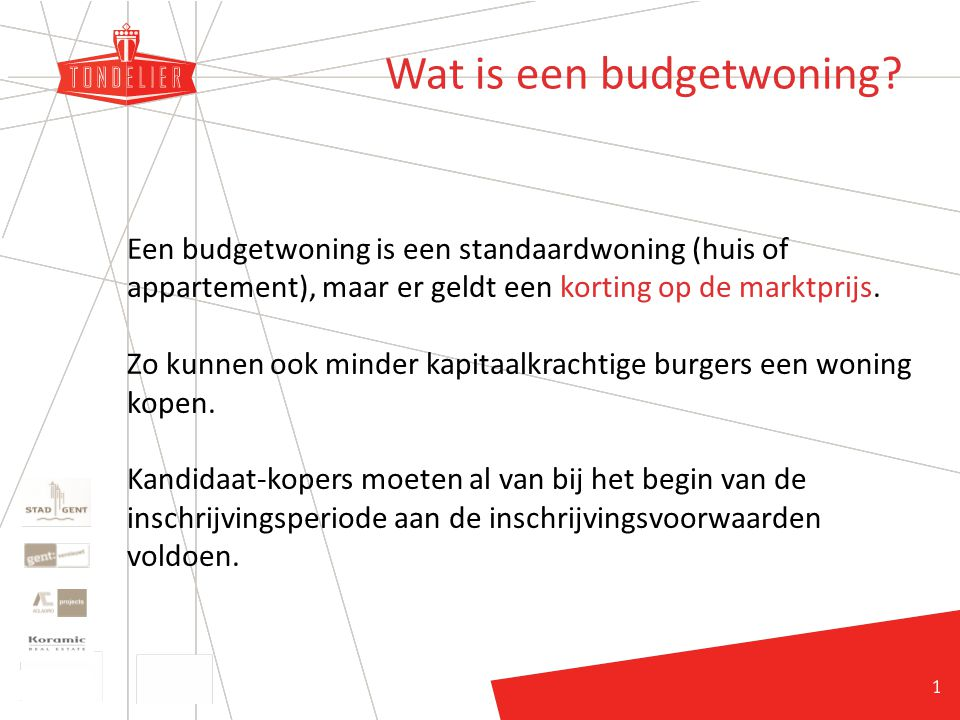 11 Wat is een budgetwoning.