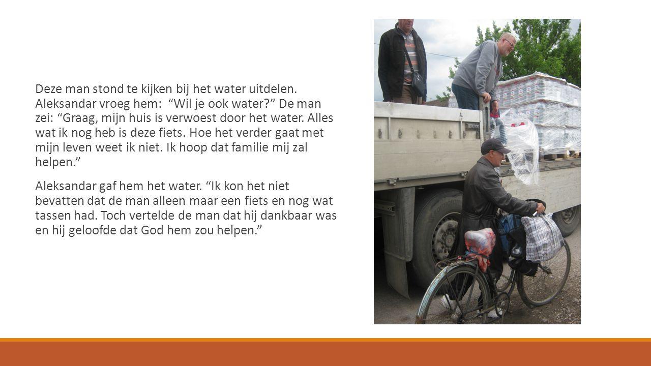 Help de slachtoffers van de watersnood in Bosnië en Servië www.hulpoosteuropa.nl