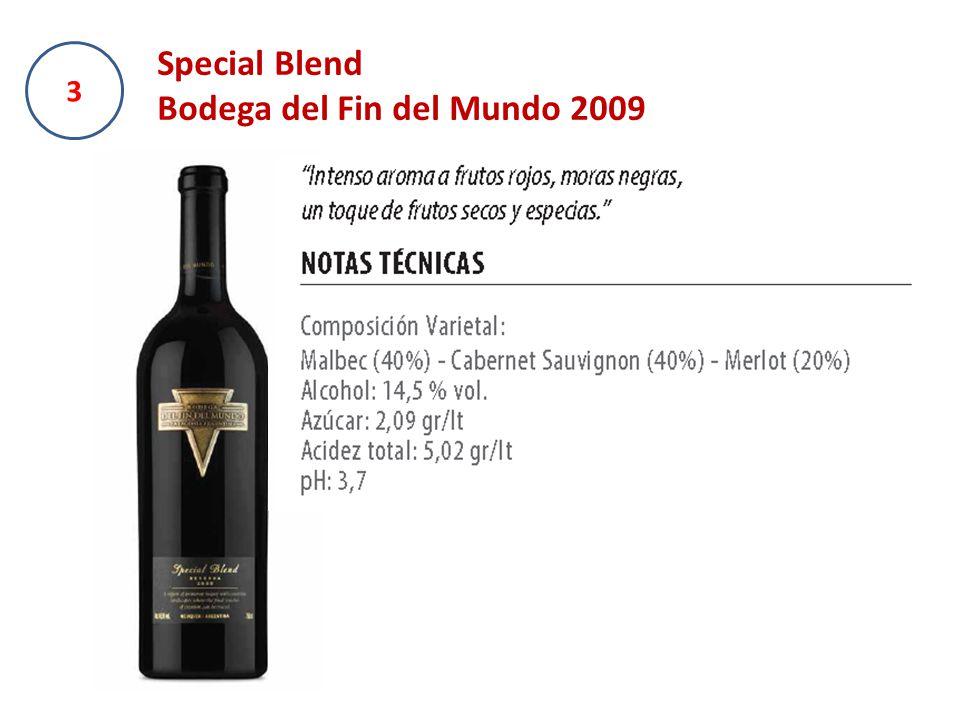 3 Special Blend Bodega del Fin del Mundo 2009