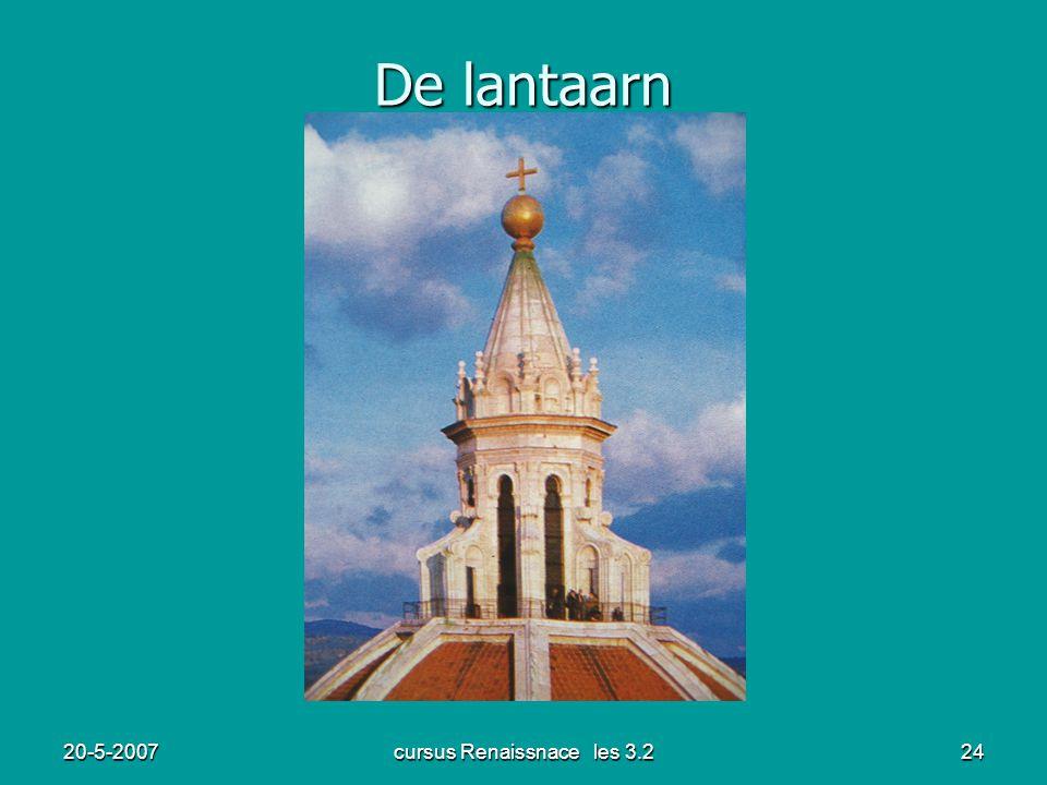 20-5-2007cursus Renaissnace les 3.224 De lantaarn