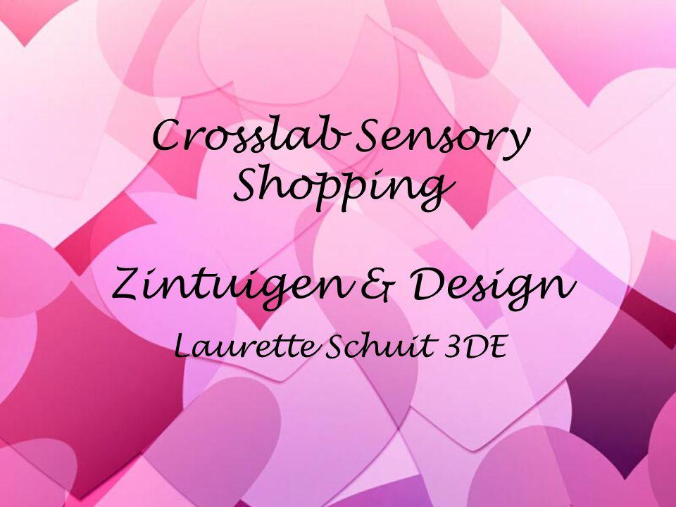 Crosslab Sensory Shopping Zintuigen & Design Laurette Schuit 3DE