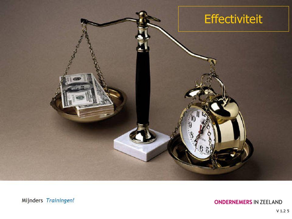 V 1.2 5 Effectiviteit