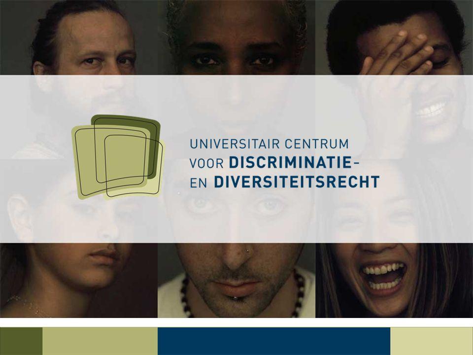 Gelijkheid en non-discriminatie Jogchum Vrielink (KU Leuven)