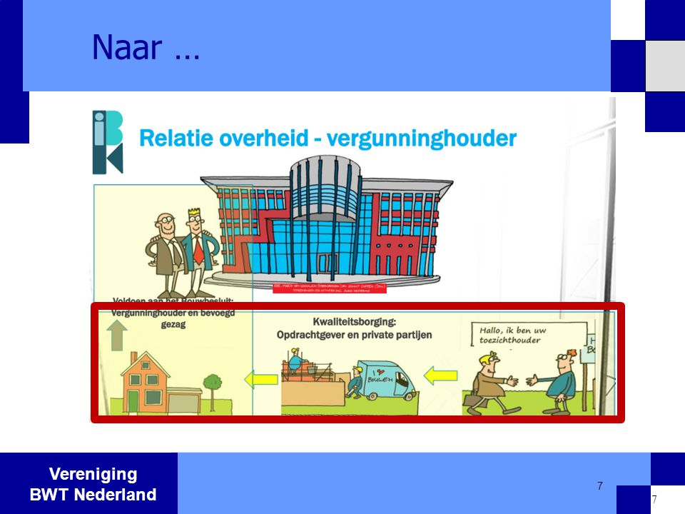 Vereniging BWT Nederland 7 Naar … 7