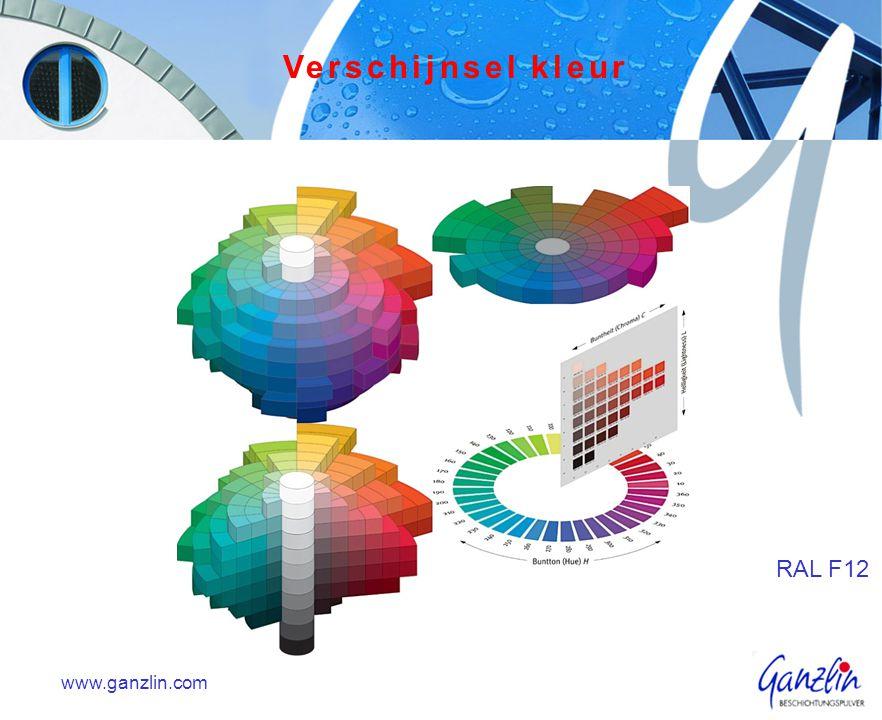 www.ganzlin.com RAL F12 Verschijnsel kleur