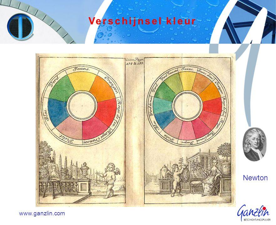 Kleuren zijn belangrijk. Kleuren geven ons veel informatie. www.ganzlin.com Verschijnsel kleur