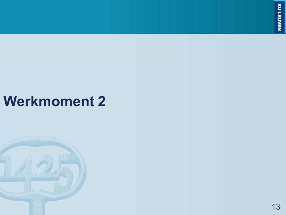 Werkmoment 2 13