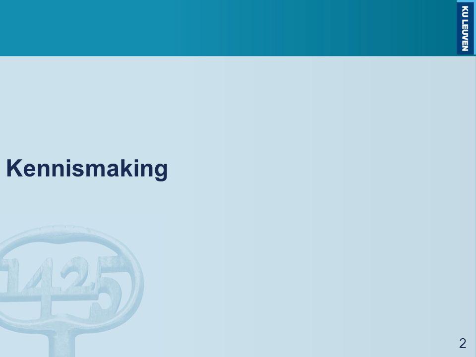 Kennismaking 2