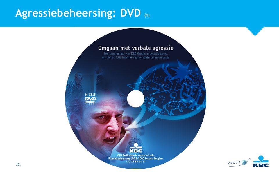 10 Agressiebeheersing: DVD (1)