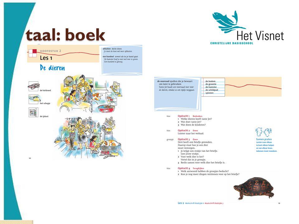 taal: boek