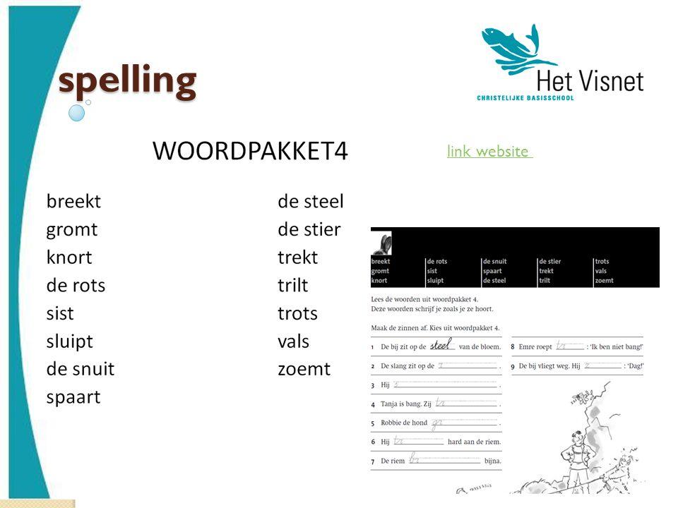 spelling link website