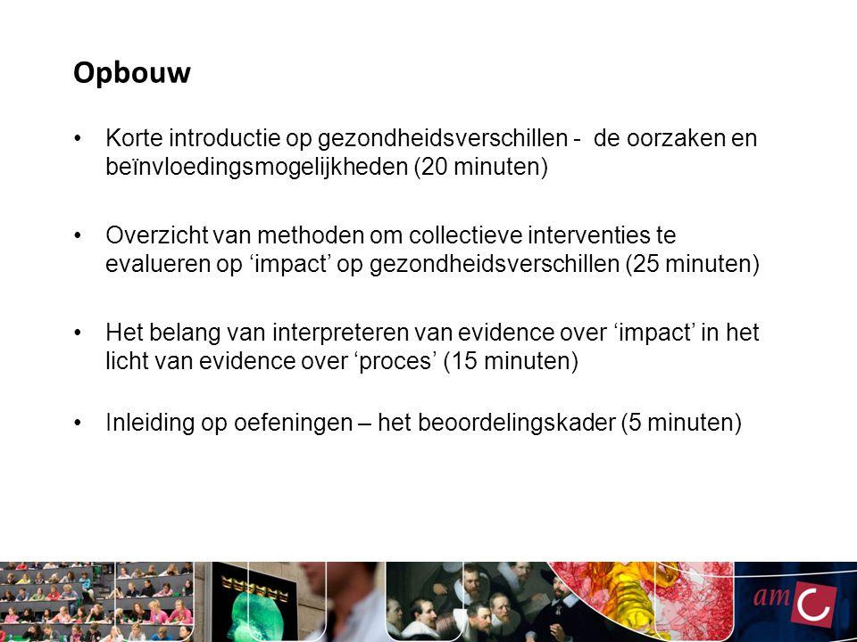 Impact van beleid (4) Ruimere openingstijden horeca in Amsterdam Beleid: 2 uur langere openingstijden voor horeca rondom Rembrandtplein en Leidseplein in Amsterdam, per 1 april 2009 Data: informatie over alle ambulanceritten in 2006-2011, naar tijdstip, bestemming en reden van uitrit Design: - meting trends vóór en na 1 april 2009 - ook in controle gebieden