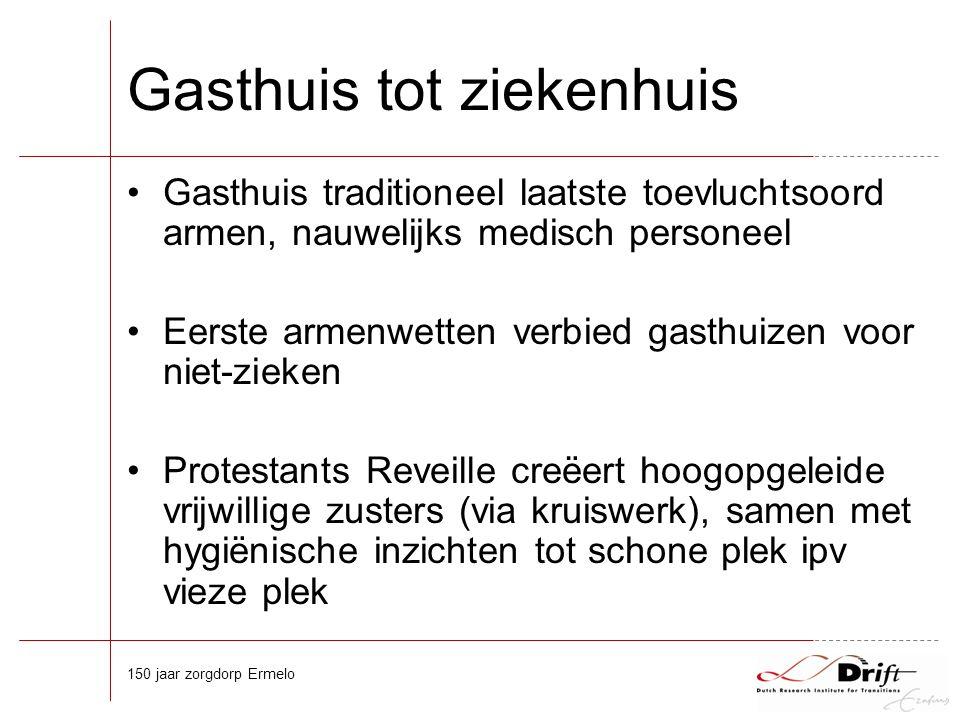 Opkomst specialist Meer artsen dan markt voor eigen praktijken 'Stadsartsen' in poliklinieken –bij ziekenhuizen (ondersteunende staf), –armen (onderwijsmateriaal), –specialiseren zich vaak (expertise).