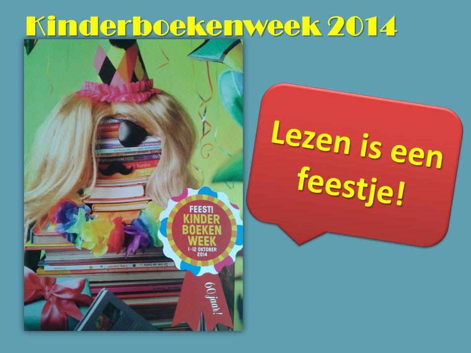 Kinderboekenweek 2014 Lezen is een feestje!