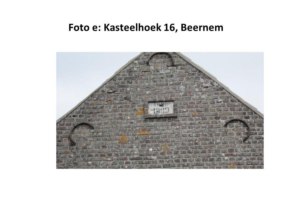 Foto e: Kasteelhoek 16, Beernem