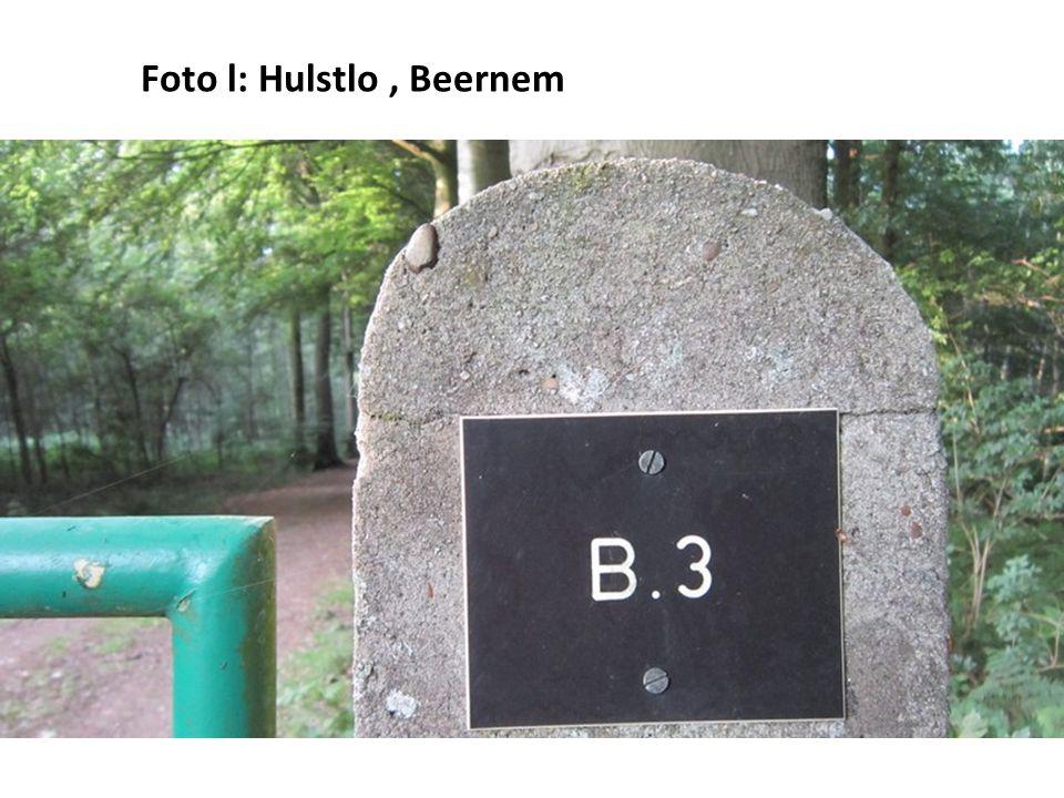 Foto l: Hulstlo, Beernem