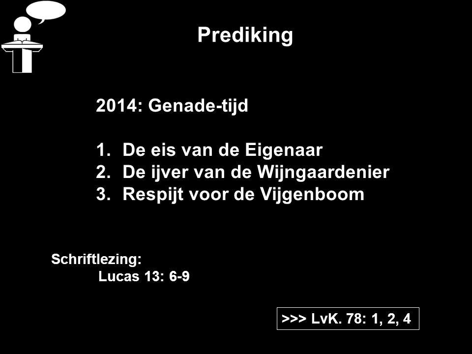 Prediking >>> LvK.
