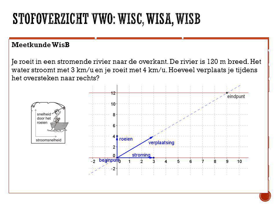 WisCWisAWisB Telproblemen Statistiek Logisch redeneren Vorm en Ruimte Rijen Differentiëren Goniometrie Integreren Meetkunde Wiskundige vaardigheden, r