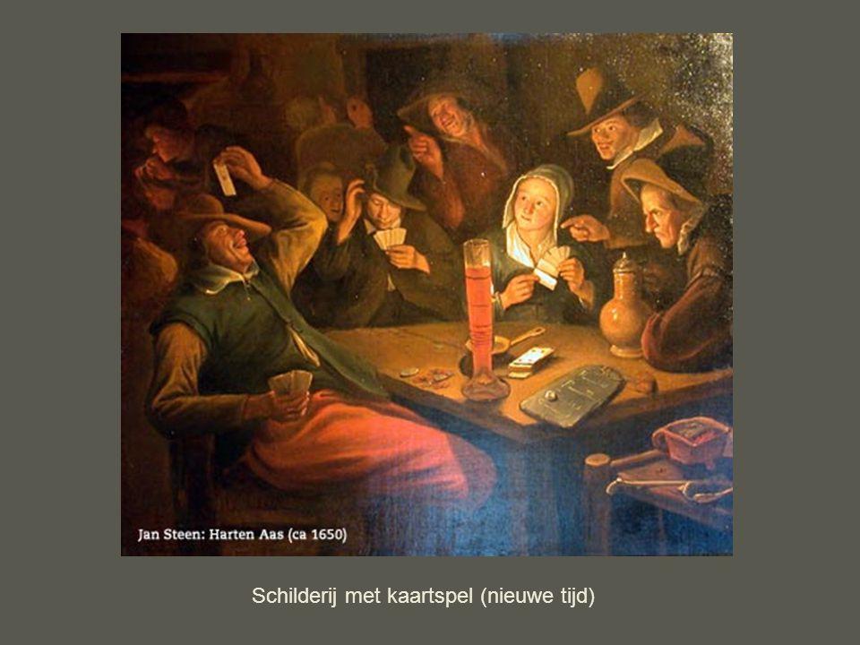 Jan Steen: Paar in de slaapkamer Schilderij van een bordeel