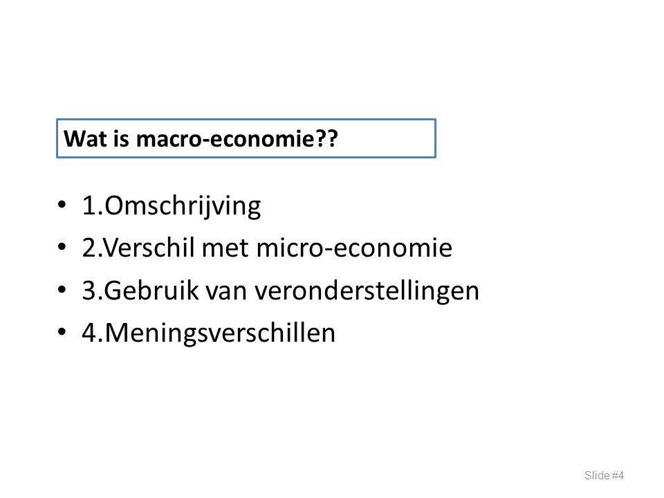 Inflatiegraad in emerging economies Bron : Economist Slide #55