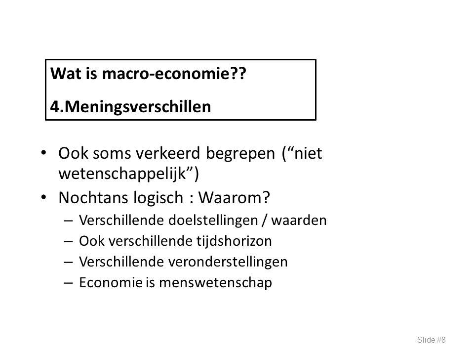 Vergelijking inkomen landen 1994 (Bron: Gartner) Slide #29 Inkomen per NOMINALPRIJS REEEL capita in dollars tov VS Portugal9.3700.7612.400 Zwitserland37.1801.5224.390 V.S.25.860125.860