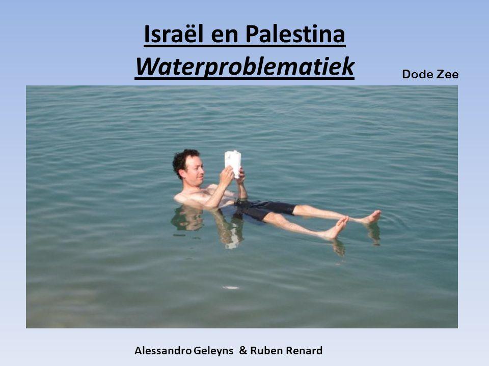 Israël en Palestina Waterproblematiek Dode Zee Alessandro Geleyns & Ruben Renard