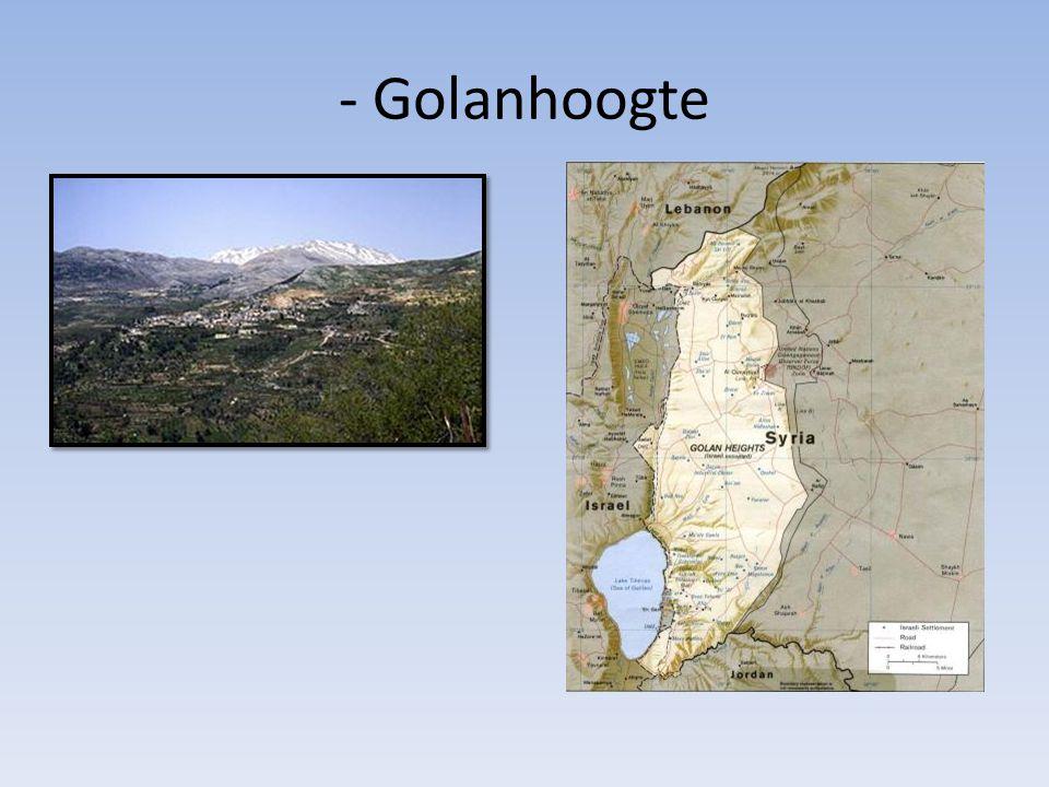- Golanhoogte