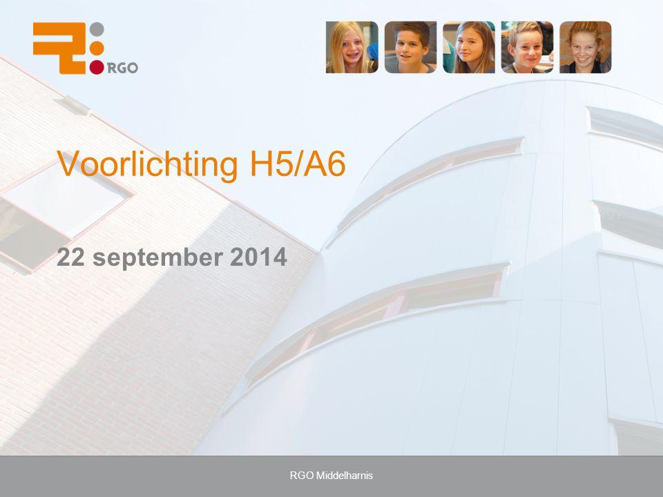 RGO Middelharnis Voorlichting H5/A6 22 september 2014
