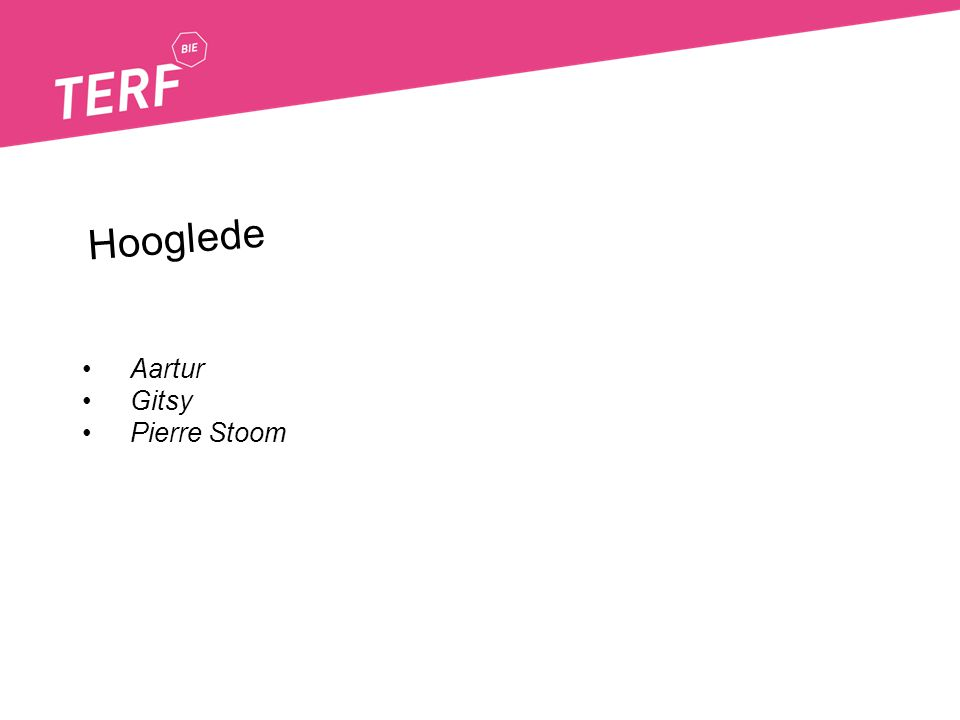 Aartur Gitsy Pierre Stoom Hooglede