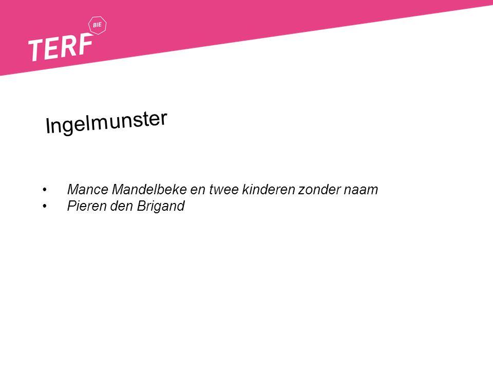 Mance Mandelbeke en twee kinderen zonder naam Pieren den Brigand Ingelmunster