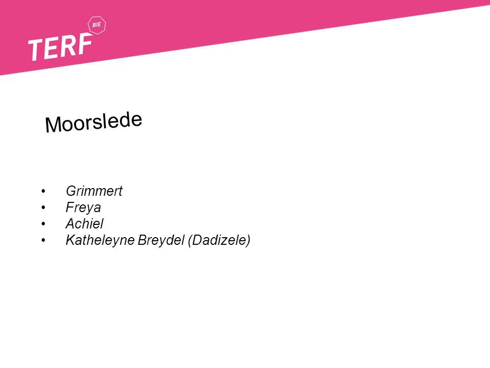 Grimmert Freya Achiel Katheleyne Breydel (Dadizele) Moorslede