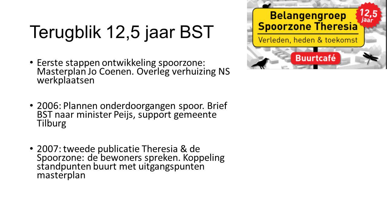 Terugblik 12,5 jaar BST Eerste stappen ontwikkeling spoorzone: Masterplan Jo Coenen.