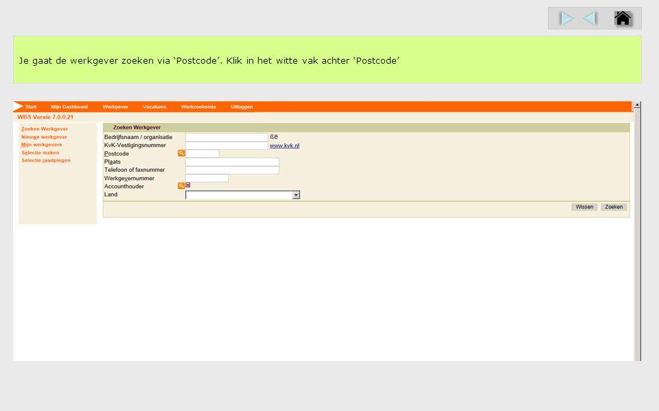 Je kiest in dit contactmoment voor het type 'Bemiddeling'. Klik in deze demo op 'Bemiddeling'.