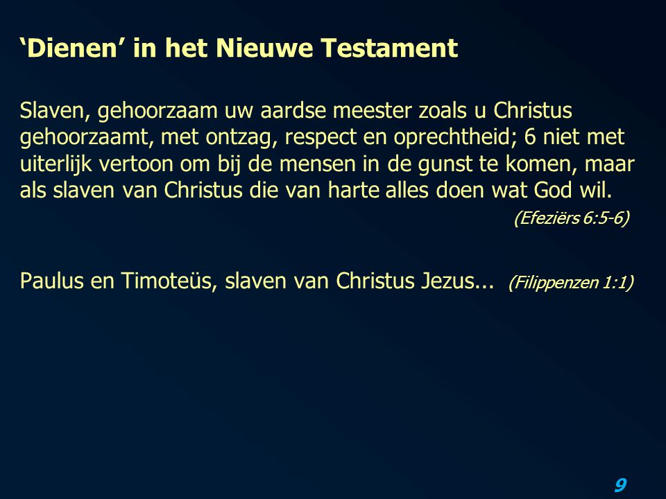 20 De gezindheid die Christus Jezus had...Wat betekent dat voor ons.
