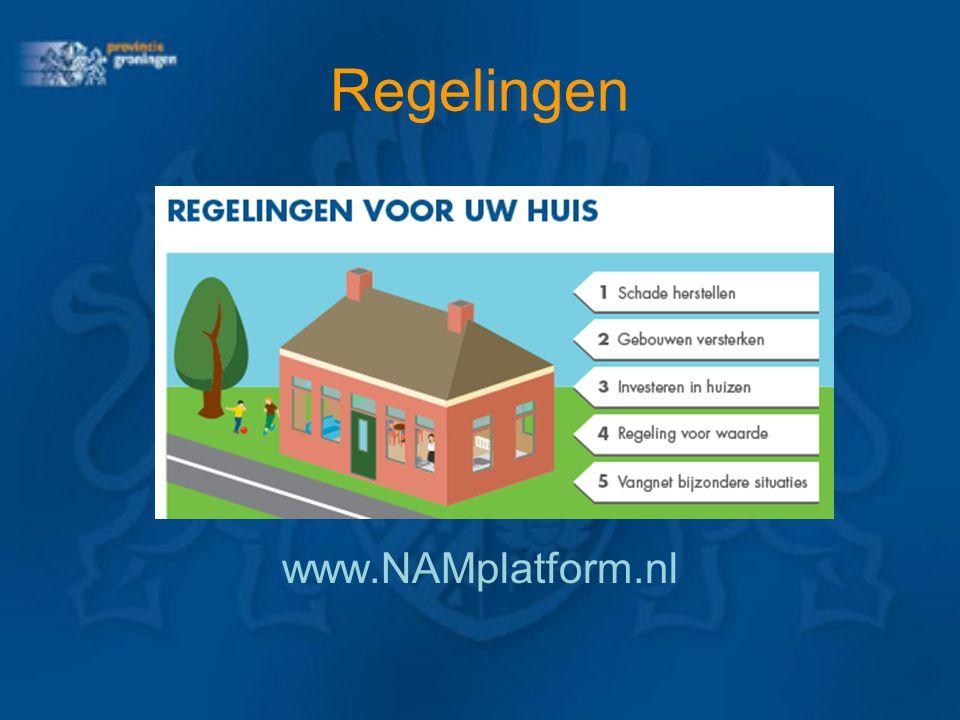 Regelingen www.NAMplatform.nl