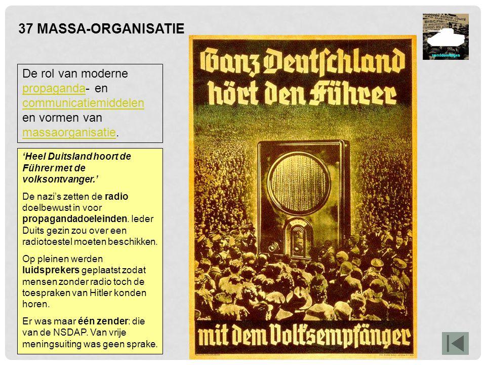 41 DE VOLKENMOORD RacismeRacisme en discriminatie die leidden tot genocide, in het bijzonder op de joden.discriminatiegenocide Nadat de nazi's in 1933 in Duitsland de macht hadden overgenomen, brachten zij hun rassenleer in de praktijk.