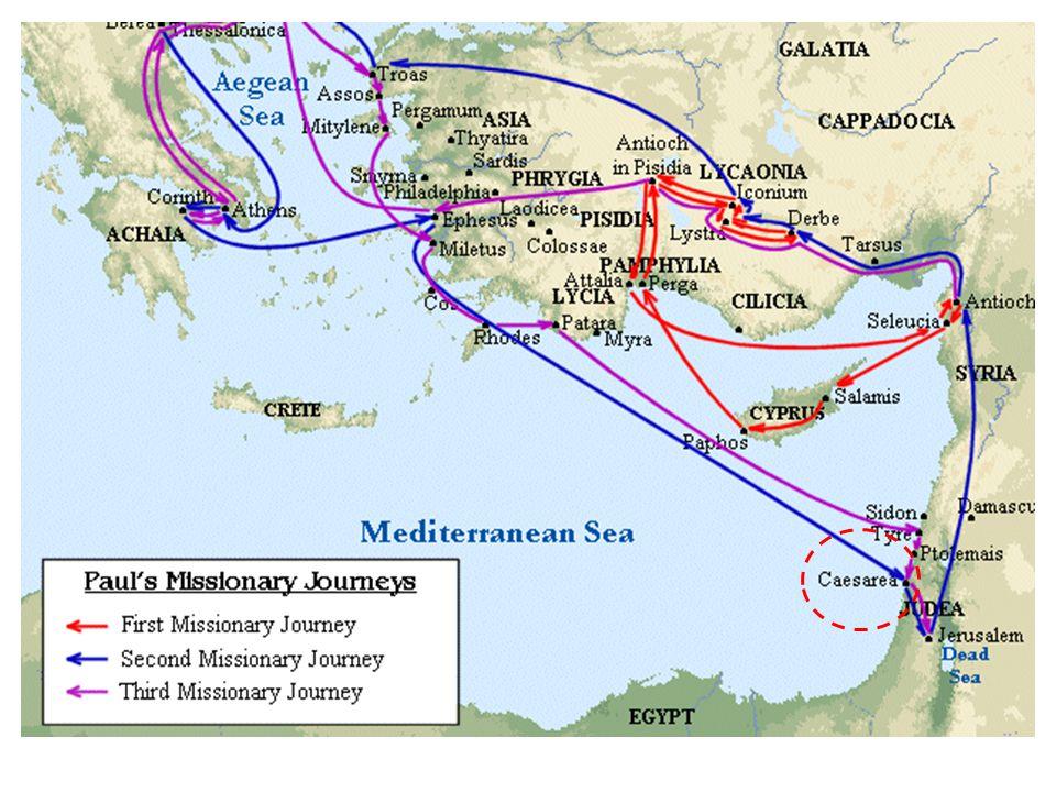 30 Doch toen de broeders dit te weten kwamen, brachten zij hem naar Caesarea en lieten hem vandaar naar Tarsus vertrekken.