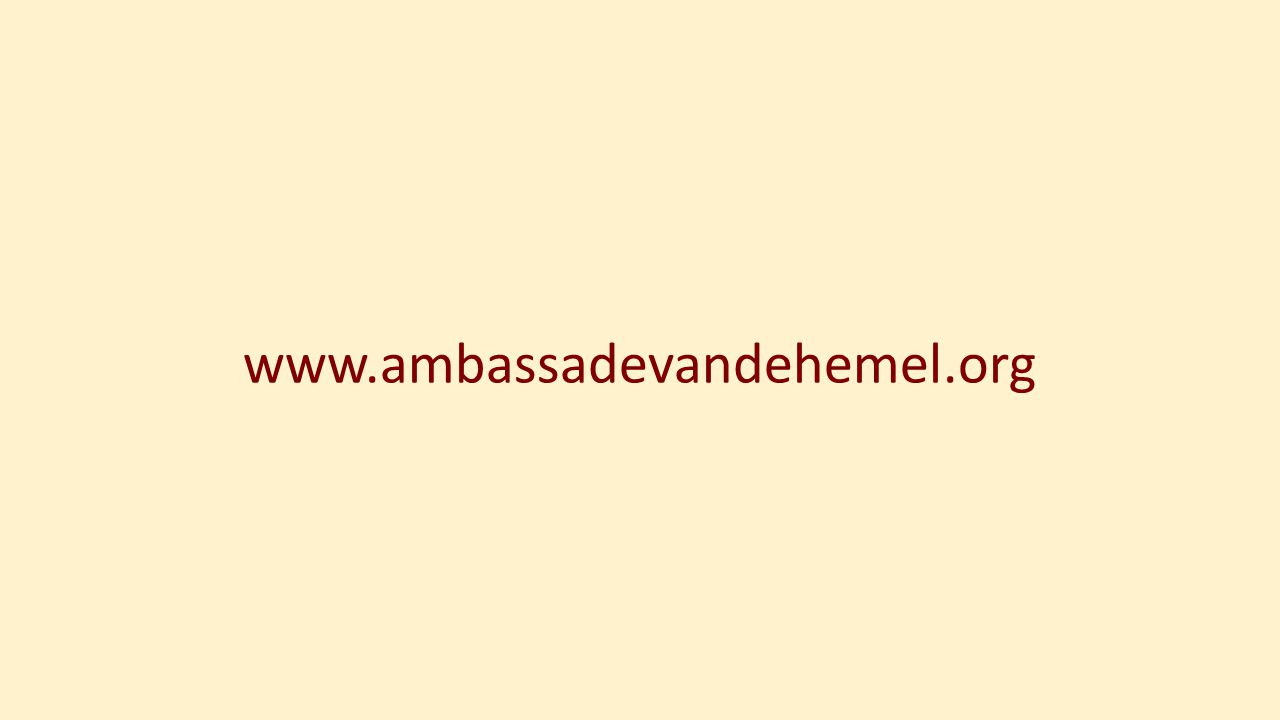 www.ambassadevandehemel.org