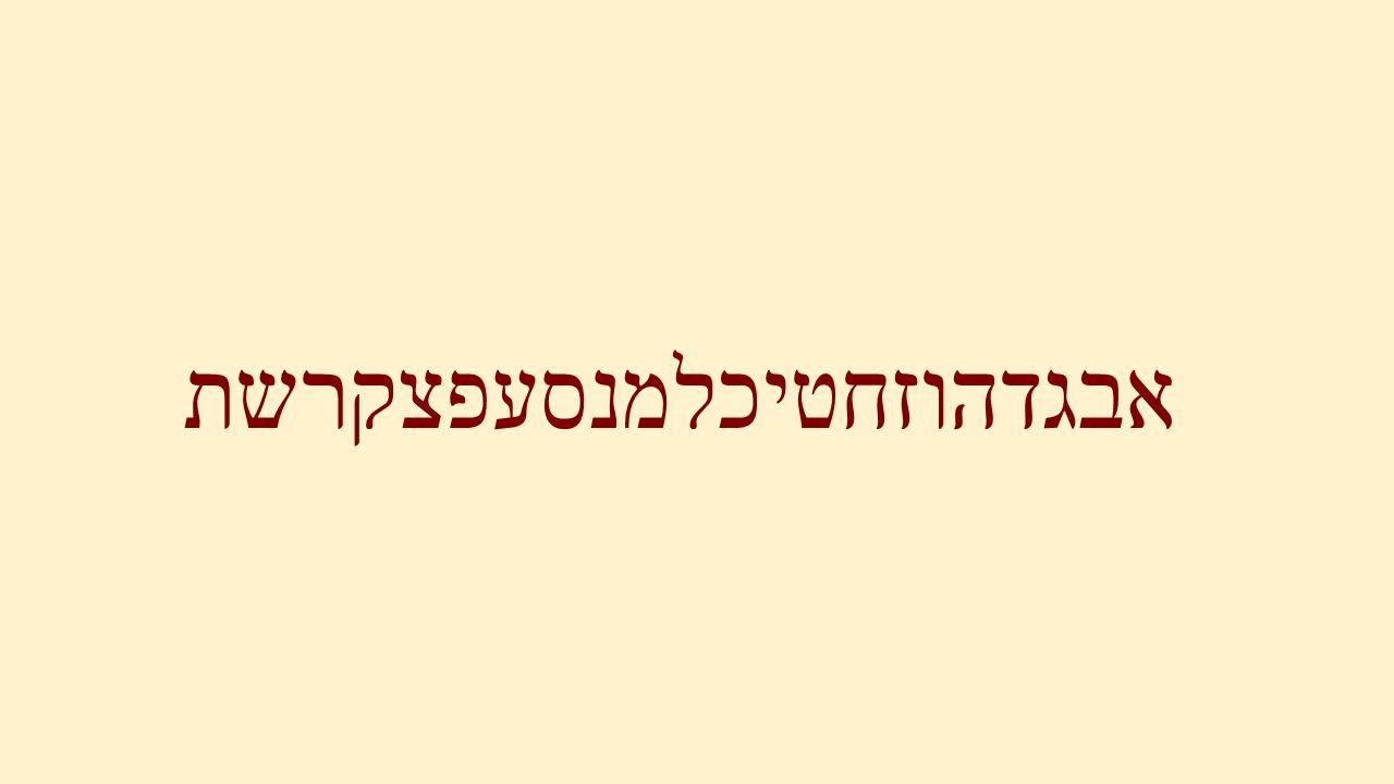 God heeft met het Hebreeuwse alfabet de schepping gemaakt Genesis 1:3,6,9,11,14,20,24,26 en 29 En God zeide:…