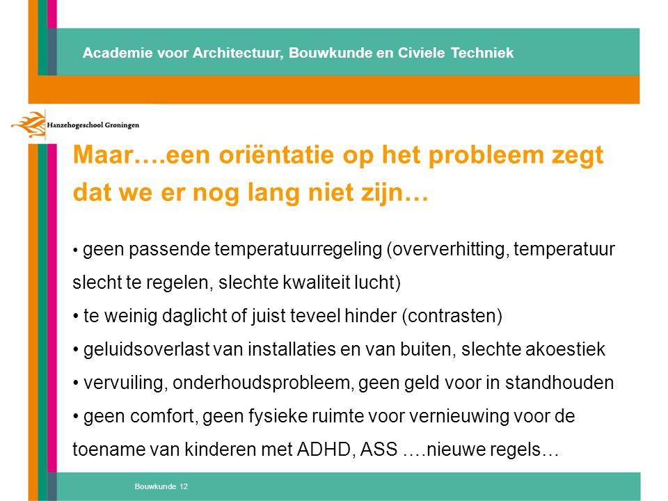 Maar….een oriëntatie op het probleem zegt dat we er nog lang niet zijn… geen passende temperatuurregeling (oververhitting, temperatuur slecht te regel