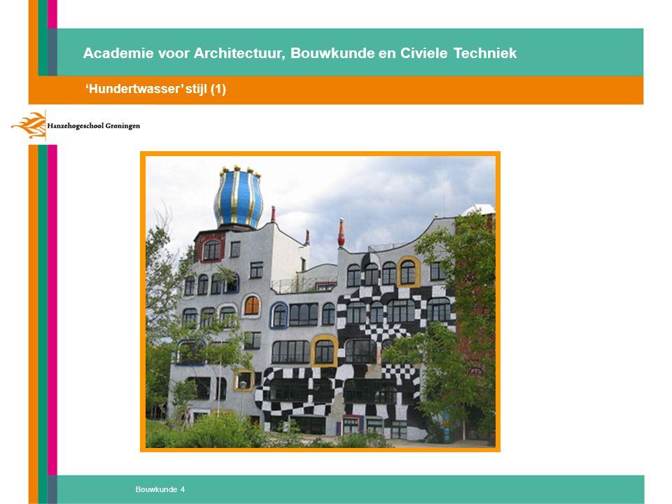 Bouwkunde 25 Academie voor Architectuur, Bouwkunde en Civiele Techniek integraal duurzaam en gezond Atelier 'D' Hoe kunnen we nu goede scholen bouwen als we niet eens de behoeften kennen….